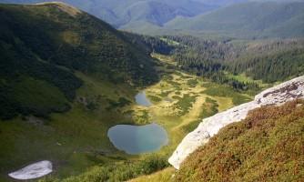 Гірські озера Карпат