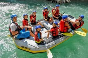 Рафтинг з дітьми в Карпатах